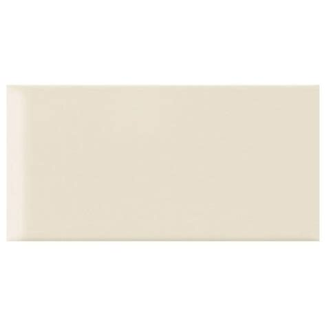 rittenhouse square tile trim pieces daltile rittenhouse square almond 3 in x 6 in ceramic
