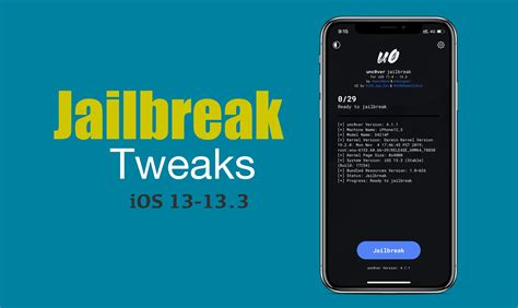 jailbreak tweaks ios iphone pro max