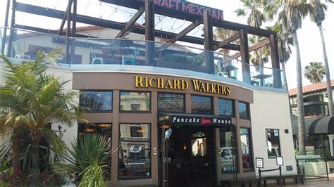 richard walker pancake house front of restaurant they indoor and outdoor seating