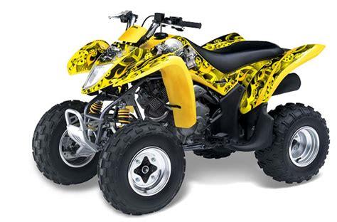 Suzuki Ltz 250 by Suzuki Ltz 250 Atv Graphics Motorhead Yellow