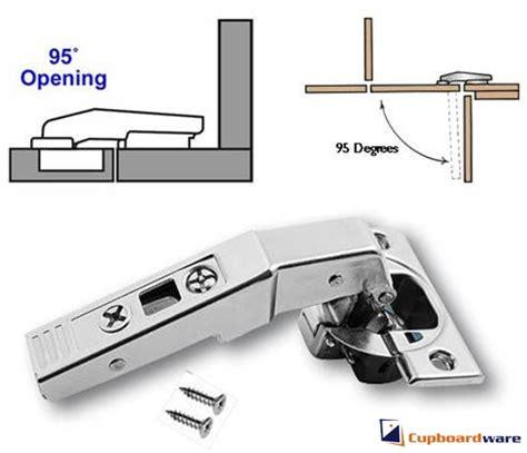 Corner Cabinet Hinges by Cupboardware Blum Blind Corner Hinge 95