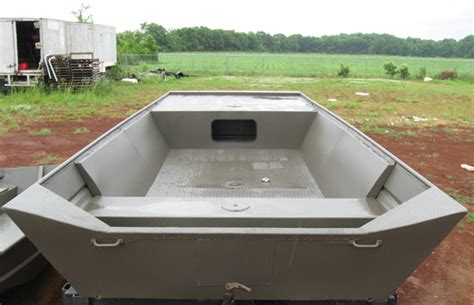Flat Bottom Boat Deck by Gagboat Build A Jon Boat Deck