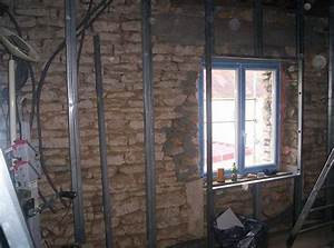 Pose De Placo Sur Rail : agrandir la maison ~ Carolinahurricanesstore.com Idées de Décoration