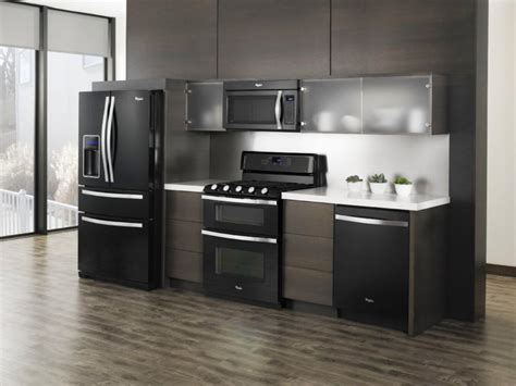 kitchen cabinet color ideas with black appliances grey kitchen cabinet color ideas with black 9646
