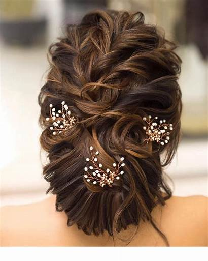 Bun Hairstyles Bridal Hairstyle Bride Messy Indian