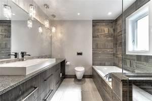 stunning salle de bain de luxe design contemporary With salle de bain design avec vasque ceramique