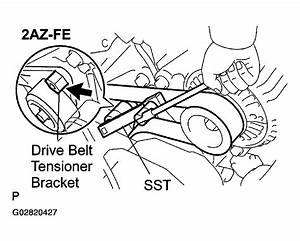 2003 Toyota Camry Solara Serpentine Belt Routing And