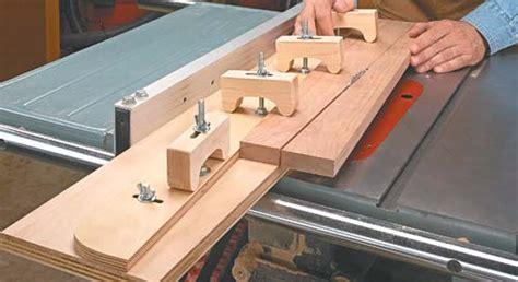 adjustable taper jig woodsmith tips