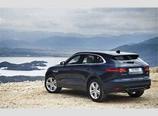 Jaguar expands FPace lineup with new gas 4cylinder engine