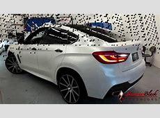 2017 BMW X6 MSport Satin Pearl White Wrap by DBX YouTube