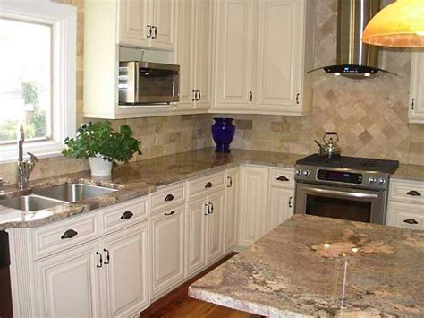 Cream Maple Kitchen Cabinets   Microwave cabinet painted