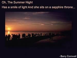 Summer nights q... Hot Summer Night Quotes