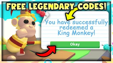 Bethinks twitter info and new code! *NEW* CODES FOR FREE LEGENDARY MONKEY PETS in Adopt Me! Roblox Monkey Update - YouTube