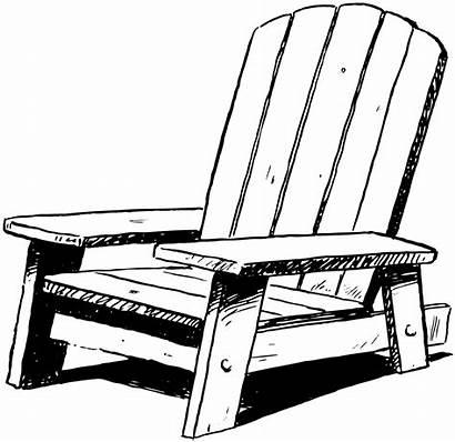 Chair Clipart Beach Chairs Adirondack Clip Empty