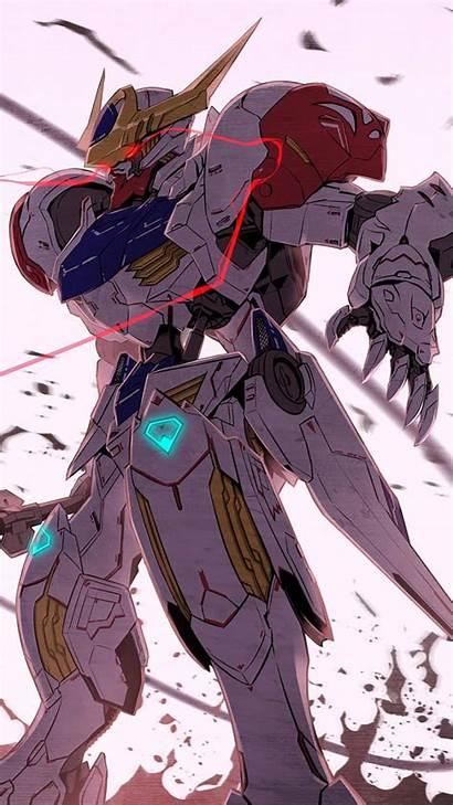 Gundam Lupus Barbatos Iron Orphans Rex Wing
