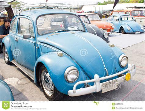 Volkswagen Beetle Retro Vintage Car Editorial Stock Image