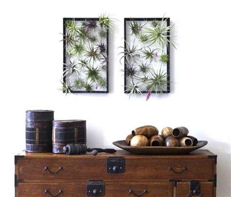 Frische Wanddekoration Mit Pflanzenwandregal Fuer Blumen by Frische Wanddekoration Mit Pflanzen Freshouse