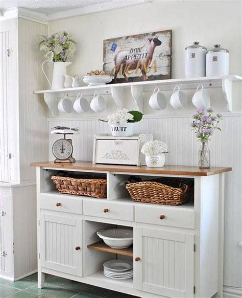 Charming Shabby Chic Kitchens That Youll Never Want To