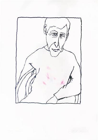 Portrait Self London Bob Gill Printclublondon