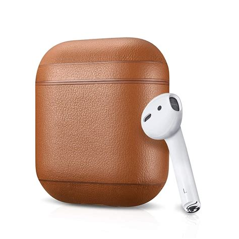 leather apple airpods case gadgetkingcom