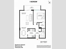 Governors Square 1 Bedroom West End Apartments Vancouver