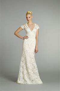stunning collections of vintage lace wedding dresses with With lace wedding dresses with cap sleeves