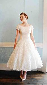 tea length wedding dresses choose for casual afternoon With afternoon wedding dresses