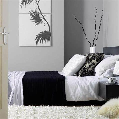 chambre a coucher et gris murs et ameublement chambre tout en gris tendance