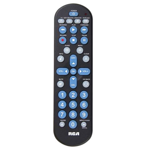 Remote Manual by Rca Rcr4258r 4 In 1 Universal Remote