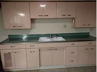metal cabinets kitchen Vintage Metal Kitchen Cabinets - Full Set | eBay