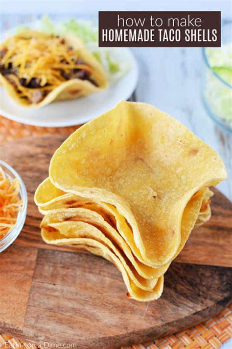 homemade taco shells easy homemade taco bowls