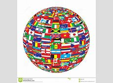 Country Flags On Ball Stock Photos Image 8602793