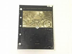 Harley Davidson 2001 Fxdwg2 Model Parts Catalog Manual