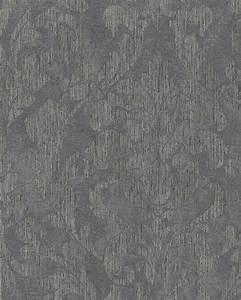 Tapete Ornamente Grau : tapete vlies ornamente glanz grau taupe gold marburg 58033 ~ Buech-reservation.com Haus und Dekorationen