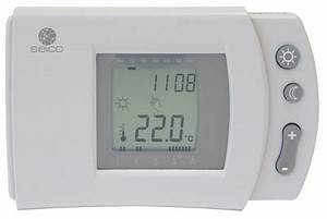 Termostato Digital Programable Para Calefacci U00f3n Seico