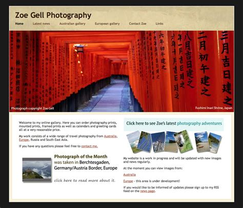 build  photography website   photography website