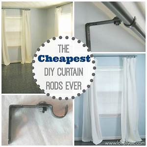 The, Cheapest, Diy, Curtain, Rods, Ever