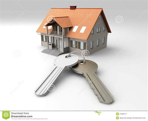 house  keys stock illustration illustration  roof