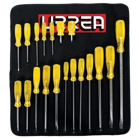 cabinet tip screwdriver set urrea cabinet phillips flat tips screwdriver set 19