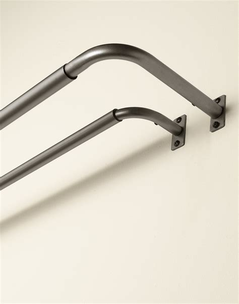 Walmart Curtain Rod Brackets by Ceiling Mount Curtain Rod Brackets