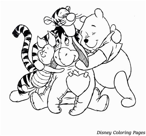 disney coloring pages  toddlers coloring home
