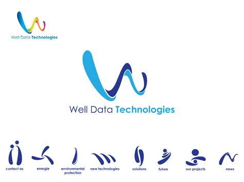 141 modern professional business consultant logo designs for wdt or well data technologies