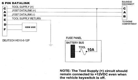 J1708 Connector Wiring Diagram by J1939 Connector Diagram Gallery