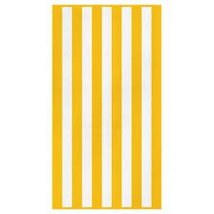 bathroom towels ideas canningvale cabana stripe towel yellow