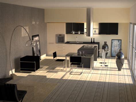 mod鑞e de cuisine ouverte cuisine ouverte moderne photos de conception de maison elrup com