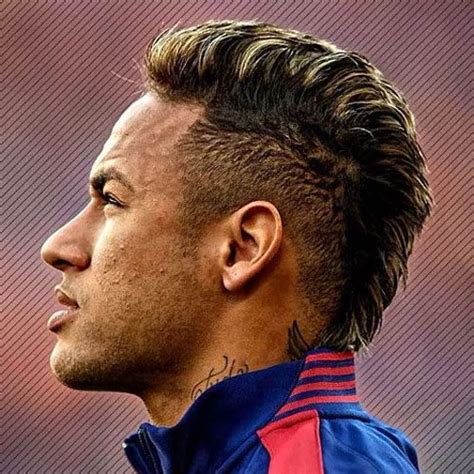 pin  soccer player hairstyles