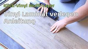 Laminat In Der Küche : vinyl laminat mulit layer verlegen anleitung youtube ~ Watch28wear.com Haus und Dekorationen