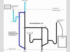 Laundry Room Plumbing Diagram Plumbing And Piping Diagram