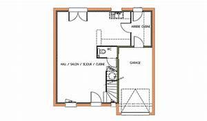 Plan maison 80m2 etage for Lovely plan de maison 110m2 2 plan de maison carre