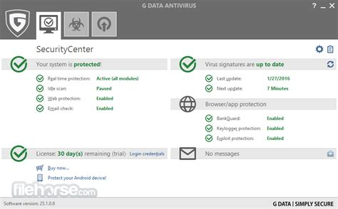 G Data Antivirus 25404 Descargar Para Windows